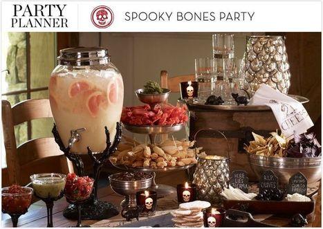 Spooky Bones Party | Pottery Barn | Halloween & Spooky Fun Stuff~ | Scoop.it