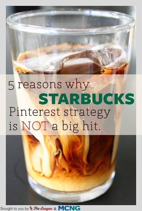 5 Reasons Why Starbucks' Pinterest Strategy is Not A Big Hit - Business 2 Community | Socialize | Scoop.it
