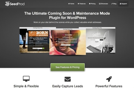 Coming Soon, Under Construction & Maintenance Mode plugin for WordPress | Front-end, Back-end, Dev | Scoop.it