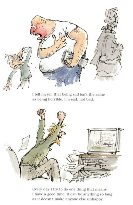 Michael Rosen's Sad Book: A Beautiful Anatomy of Loss, Illustrated by Quentin Blake | Multicultural Children's Literature | Scoop.it
