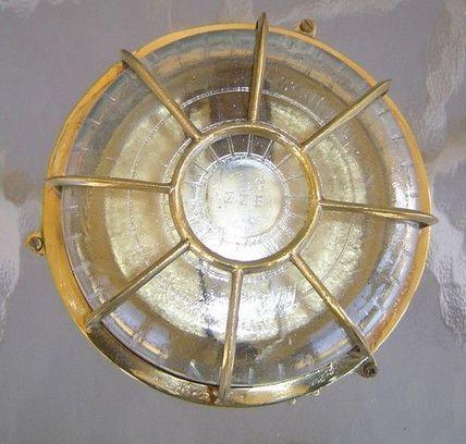 antique brass boat light | Nautical Decor | Scoop.it