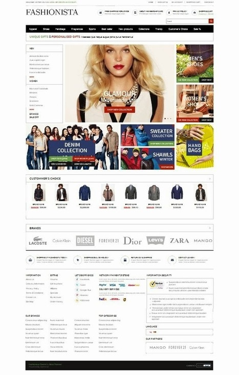 20 Beautiful Design Examples of What Can Be Done with OpenCart ~ Web Designer Pad | Web Design | Scoop.it