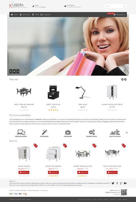 Kubera, Opencart Premium Responsive Theme | Premium Download | Premium Opencart Themes | Scoop.it