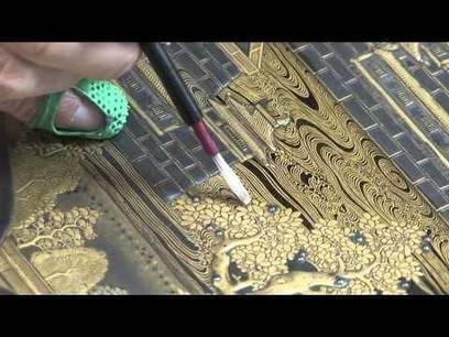 Art Mazarin Chest Conservation Applying Urushi-Gatame | News in Conservation | Scoop.it