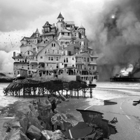 Hyper Collages of Black And White Architecture Photos – Fubiz™ | B&W | Scoop.it