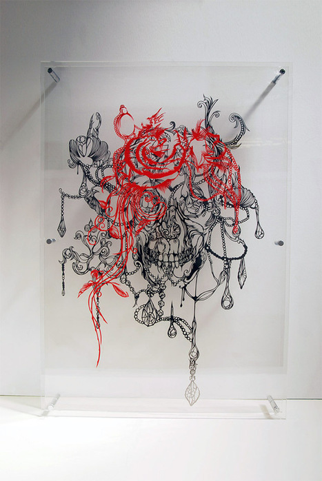 Colossal   A blog about art and visual ingenuity.   Art world   Scoop.it