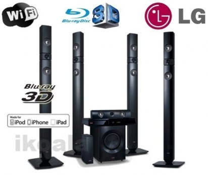 LG 1200w 3D Blu Ray Home Theatre System with ikOala Home Entertainment Deals | Daily Deals Online | Scoop.it