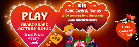 Win Amazon Vouchers and more in Gifts Galore at Gone Bingo | Bettys Bingo UK | UK Bingo Promotions | Scoop.it