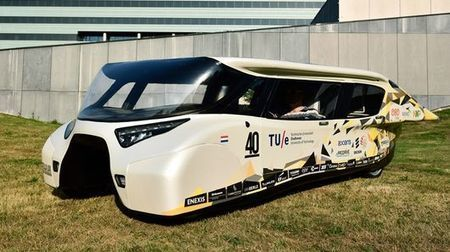 Dutch students reveal solar-powered family car | Stu Robarts | GizMag.com | @The Convergence of ICT & Distributed Renewable Energy | Scoop.it