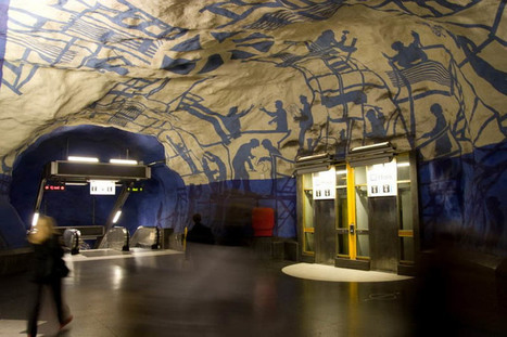 110 Kilometer Art Exhibition At Stockholm Metro | RH 2.0, nouvelles pratiques | Scoop.it