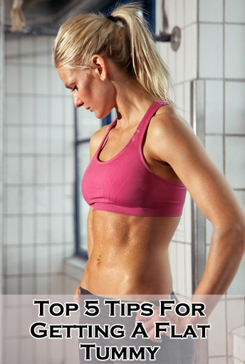 Top 5 Tips For Getting A Flat Tummy | justin kavanagh Fitness | Scoop.it