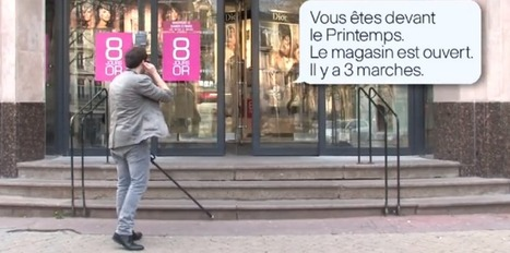 VIDEO. Une canne connectée pour malvoyants | E-santé et médecine en ligne | Scoop.it
