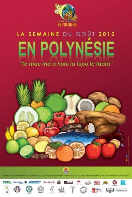Semaine du goût du 15 au 21 octobre | Parent Autrement à Tahiti | Scoop.it