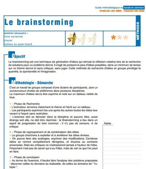 Guide méthodologique du travail en commun | Elearning, pédagogie, technologie et numérique... | Scoop.it