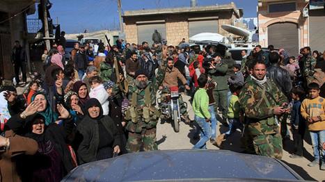 Liberación de Alepo: la gente aplaude a las tropas sirias | Política para Dummies | Scoop.it