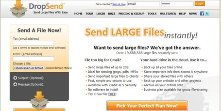 DropSend - Email large files and send large files | Searching & sharing | Scoop.it