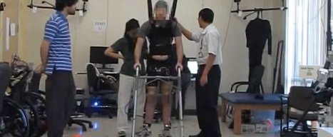 Paralyzed Man Walks Using Brain Waves & Technology   Computers, Security, Networks, Healthcare IT, & More   Scoop.it