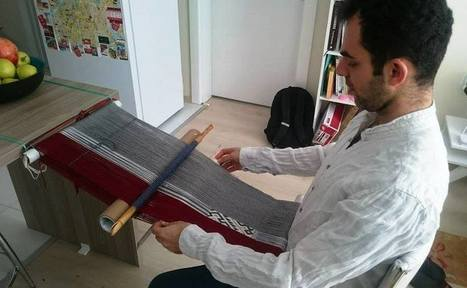 Backstrap Weaving - Making Do | Spinning, Weaving and Knitting | Scoop.it