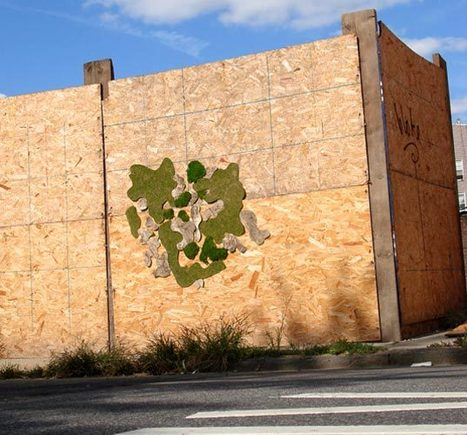 CLEAN GREEN LIVING GRAFFITI made from moss! | Street Art and Artists | Scoop.it
