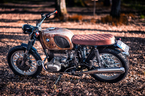 Rusty Traudl | Cafe racers chronicles | Scoop.it