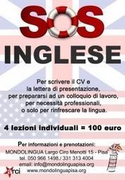 SOS inglese: corso intensivo e focalizzato sulle tue necessità professionali e di studio - Mondolingua   studiare le lingue a Pisa   Scoop.it