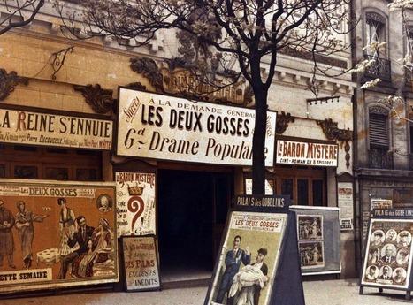 Une collection de photos de Paris en couleur prises dans les années 1900 mises en ligne. | Les expositions | Scoop.it
