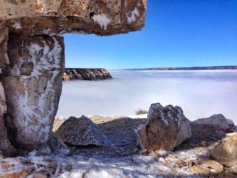 Grand Canyon en Arizona en hiver : les images spectaculaires   Conseils et récits de voyages   Scoop.it