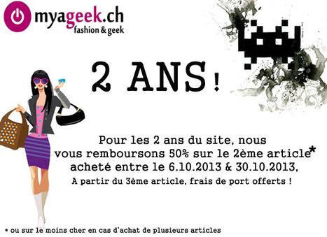 Ventes privées chic & geek - myageek | Myageek.ch - Ventes privées | Scoop.it