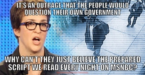 rachel maddow exposed as another new world order, illuminati | Inspiration | Scoop.it