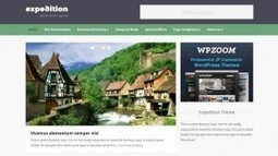 Expedition - A Directory WordPress Theme by WPZOOM   Free & Premium WordPress Themes   Scoop.it