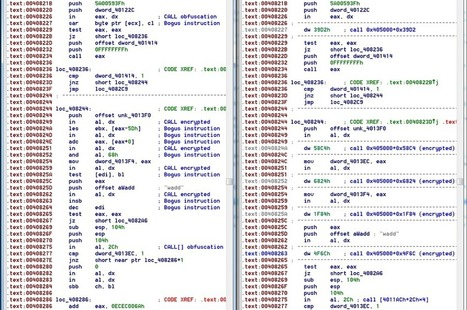Transparent Deobfuscation with IDA Processor Module Extensions | powershell | Scoop.it