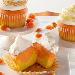 Recipes: Candy Corn Cupcakes | Healthy Cooking Magazine | Scoop.it