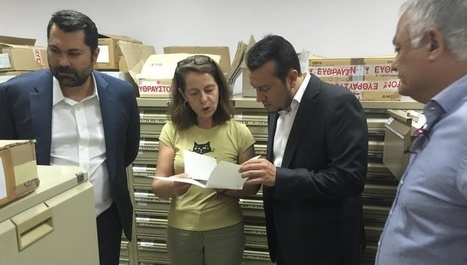 ΑΠΕ-ΜΠΕ: Ν. Παππάς: Το ιστορικό οπτικοαουστικό αρχείο της ΕΡΤ πρέπει να συνδεθεί περισσότερο με την κοινωνία | Greek Libraries in a New World | Scoop.it