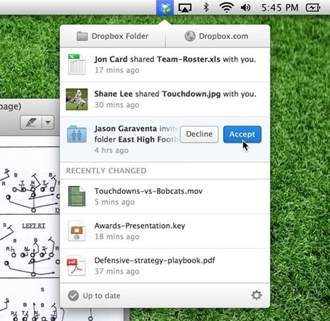 Dropbox 2.0 simplifie drastiquement son interface sur Windows & Mac | e-REPUTATION par Linexio | Scoop.it
