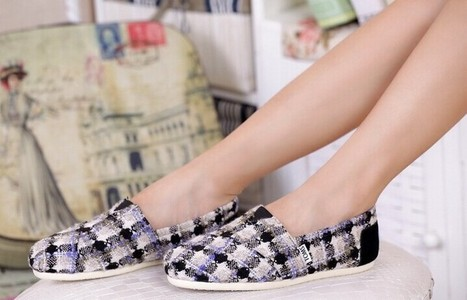 Wholesale Toms Plaid Wool Shoes For Women | Toms Outlet Cheap Shoes | Scoop.it