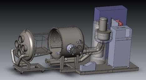 Juin 2015 : Mise en service de l'équipement de test de vide thermique   Revue de presse Intespace   Scoop.it