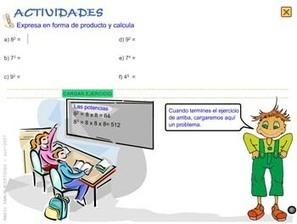 Potencias: recursos para Primaria y Secundaria - Educación 3.0 | Las TIC y la Educación | Scoop.it