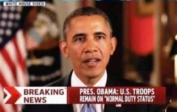 Obama Releases Post-Shutdown Message for Troops, Civilian Defense Employees   Current events   Scoop.it