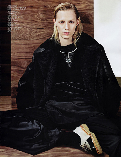 Julia Nobis by Sharif Hamza for Vogue China November 2013 | The Fashionography | Fashion | Scoop.it