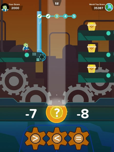 Zap Zap Math–Clever, Robust Math App for K-6 | STEM Connections | Scoop.it