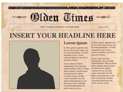 Recursos para el aula: Página editable para crear periódicos.- | NTICs en Educación | Scoop.it