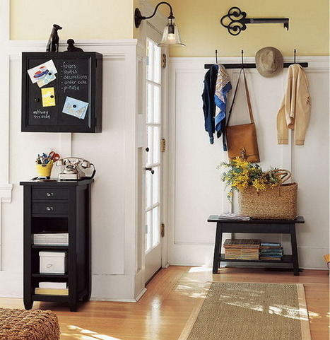 Cool Hallway Solutions | Home & Office Organization | Scoop.it