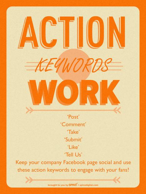 ENGAGEMENT - Use Action Keywords For Facebook Engagement | Social Media | Scoop.it