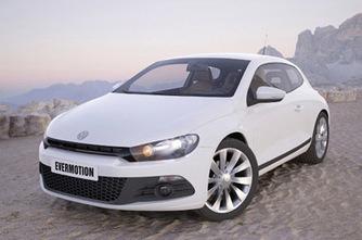 Volkswagen Scirocco : voiture en 3D | 3D Library | Scoop.it