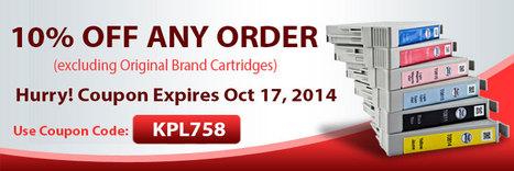10% off Any Order Offer at Re-inks   PRLog   Tips About Printer Cartridges - Shop.re-inks.com   Scoop.it