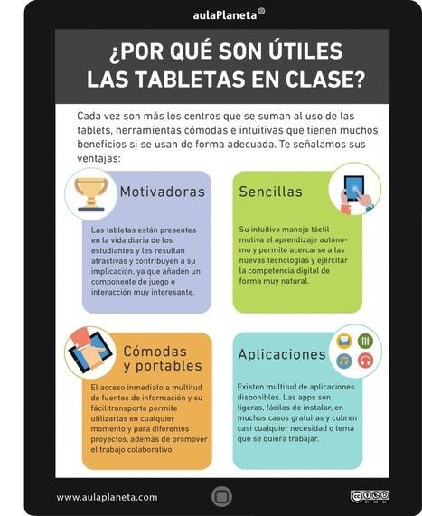 ¿Por qué son útiles las tabletas en clase? | Código Tic | Scoop.it