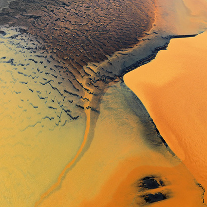 Vivid aerial photos capture Earth's lurid landscapes | Strange days indeed... | Scoop.it