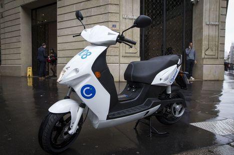 Après le vélo et la voiture, le scooter en libre accès a démarré à Paris | Médias sociaux et tourisme | Scoop.it