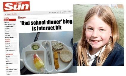 La résistante la + jeune d'Angleterre a 9 ans ! et dénonce des repas de cantine dignes de tolards | TAHITI Le Mag | Scoop.it
