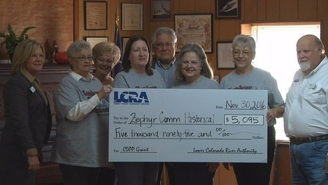 Zephyr gets $5,000 grant to fix historical community center | exTRA by the Trinity River Authority of Texas | Scoop.it